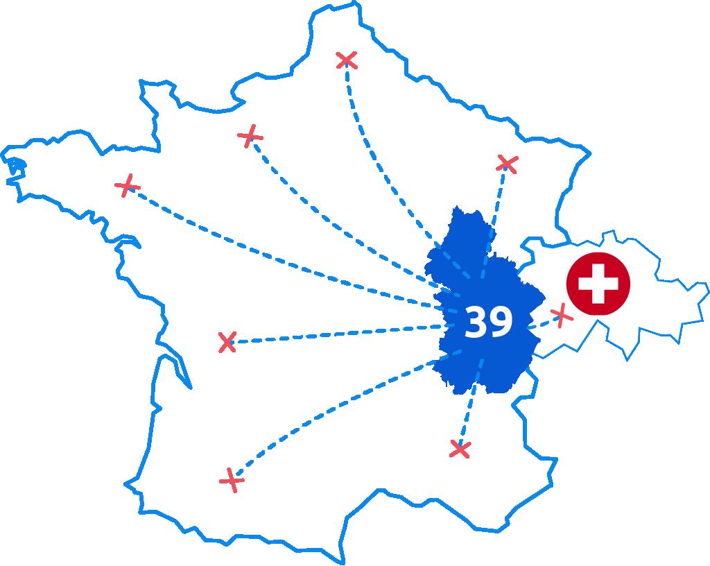 Vos produits chez vous, partout en France